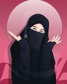 Image may contain: one or more people Anime Muslim, Muslim Hijab, Cute Muslim Couples, Muslim Girls, Muslim Men, Hijabi Girl, Girl Hijab, Muslim Pictures, Hijab Drawing