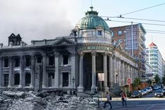 Photographs Blend Scenes from the 1906 San Francisco Earthquake and Present Day