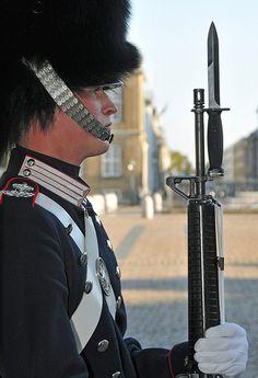 Picture of ( Copenhagen Style, Copenhagen Denmark, Royal Copenhagen, Military Guard, Kingdom Of Denmark, Uniform Insignia, World Most Beautiful Place, Scandinavian Countries, Danish Royal Family