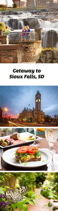 Beautiful Falls Park anchors a stay in Sioux Falls. Guide for a two-day getaway: http://www.midwestliving.com/travel/south-dakota/sioux-falls/sioux-falls-two-day-getaway/
