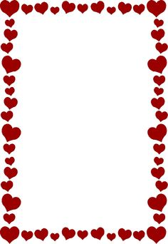 Bridal Association of America Wedding Clip Art Free Valentine Clip Art, Valentines Day Border, Page Frames, Heart Clip Art, Boarders And Frames, Page Borders Design, Heart Border, Wedding Clip, Borders For Paper