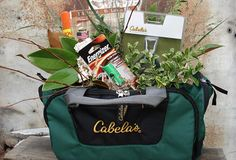 Hunter Gift Basket for Father's Day http://www.flowersatwill.com/portfolio/gift-baskets/