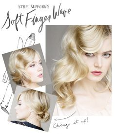 Hairstylist Cindy Viola shows us how to create the perfect finger wave