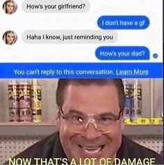 9gag Funny, Funny Texts Jokes, Text Jokes, Crazy Funny Memes, Really Funny Memes, Funny Laugh, Stupid Funny Memes, Funny Relatable Memes, Funny Posts
