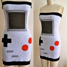 Nintendo Gameboy Dress - @ Ashley Steiner