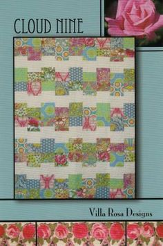 Cloud Nine Quilt Pattern By Pat Fryer from by SewcialStitch1998