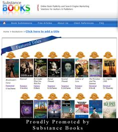 Learn more about these titles here: http://www.onlinebookpublicity.com/books.html Request publicity services to increase your title's online visibility. Step 1. Introduce us to your title here: http://www.onlinebookpublicity.com/bookpromotion.html