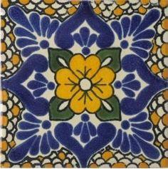 Polenco Talavera trivet hot plate mexican tile by SkyLawless, $15.00