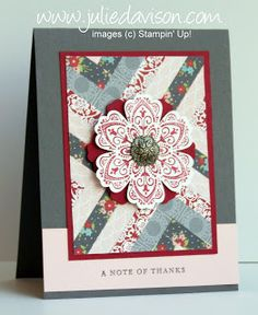 Julie's Stamping Spot -- Stampin' Up! Project Ideas Posted Daily: Top 5 of February 2012