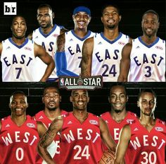 2016 NBA All-Star Starters