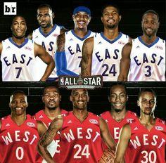 2016 NBA All-Star Starters