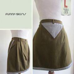 Funny Skirt em xadrez inglês. Com que peças a conjugariam? :)