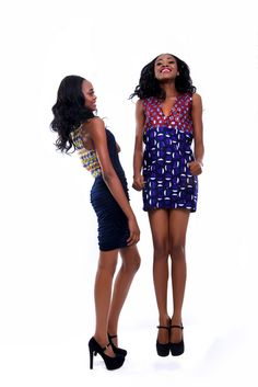 (Models Taiwo & Kehinde @ Beth Africa. CIAAFRIQUE ™ | AFRICAN FASHION-BEAUTY-STYLE: June 2011