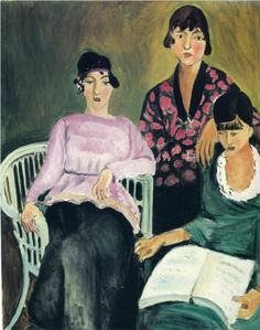Three Sisters - Henri Matisse 1917