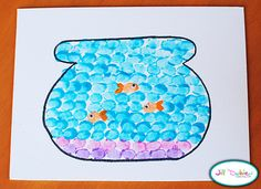 thumbprint fish bowl