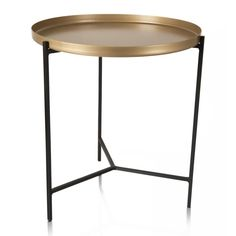 Eclipse Side Table   Woolworths.co.za Gold Top, Small Furniture, Matte Gold, My Room, Minimalist, Steel, Table, Home Decor, Decoration Home