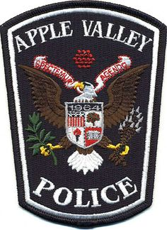 Patch or Emblem for Apple Valley Police Minnesota