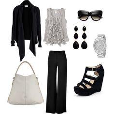 Black & Grey, created by nancy-ellyn