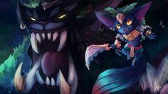 Mega Gnar League of Legends High Definition Picture 1920×1080