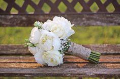 Bouquet da sposa shabby chic by PROFUMO DI FIORI in coll. con Il Matrimonio Italiano