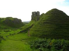 The Fairy Glen, Scotland It's not actually inhabited by fairies, but the further you go up the valley, the more your sense of scale goes awry and it's easy to imagine that this word-in-miniature hides away a population of otherwordly beings.
