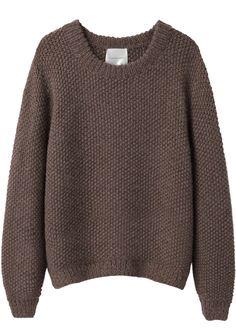 La Garçonne Moderne Sylvia Alpaca Handknit Pullover | La Garçonne