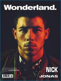 Nick Jonas covers the fall 2016 edition of Wonderland in Saint Laurent.