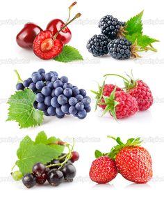 Набор свежих ягод с зелеными листьями - Стоковое изображение: 6885916 Image Clipart, Kids Cards, Botanical Art, Fruits And Vegetables, Kids And Parenting, Games For Kids, Healthy Choices, Food Art, Blackberry