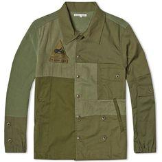 Needles rebuild coach jacket. #militaryinspired #heritage