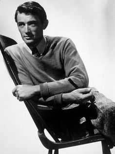 Gregory Peck - aka the most handsome man ever alive