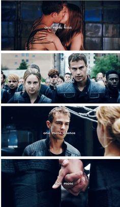 Divergent, dauntless, tris and four