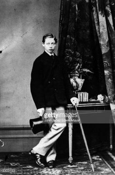 Young Prince Leopold , Duke of Albany.