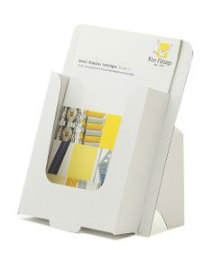 Brochure Display, Cardboard for A4 leaflets Pack of 50 Pockets  Ref: CA4 Price: £24.44  (Excluding carriage and  VAT)