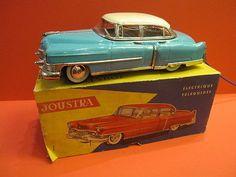 JOUSTRA CADILLAC 1952 Turquoise & Cream MINT+ ORIGINAL BOX