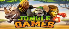 Neuer Beitrag JUNGLE GAMES hat sich auf CASINO VERGLEICHER veröffentlicht  http://go2l.ink/1Ikv  #JUNGLEGAMES, #JUNGLEGAMESNetent, #NetentSlots, #SlotSpiele, #Slots