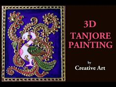 Thanjore painting Thanjavur painting is a classical South Indian painting style, which was inaugurated from the town of Thanjavur . Thanjavur paintings are c. Mysore Painting, Kalamkari Painting, Tanjore Painting, Kutch Work, Clay Paint, Mirror Painting, Mandala Dots, Buy Paintings, Tribal Art
