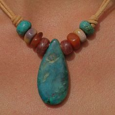 Hand made stone bead jewelry: http://manitoubeads.com/