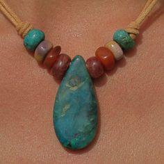 Hand made stone bead jewelry: http://manitoubeads.com/