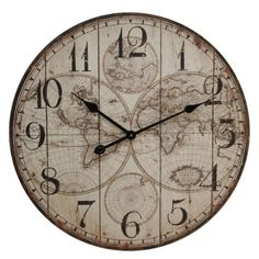Wooden wall atlas world map globe pendulum clock vintage kitchen wooden wall atlas world map globe pendulum clock vintage kitchen office bedroo view more on the link httpzeppyproductgb2371385 publicscrutiny Images