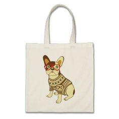 BROKEN PENCILS French Bulldog Tote Bag #BullyDogNation