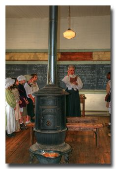 One-room school house in Waterford VA... by Roger Photos, via Flickr