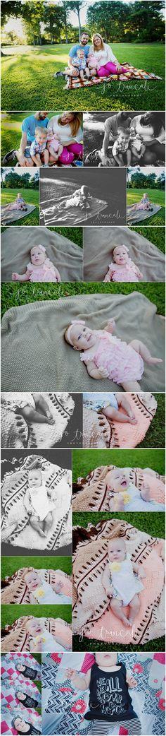 3 month milestone session | Jo Truncali Photography Beaumont Family Photographer