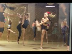 Maddie, Mackenzie, Brynn, Kendall, Nia and Jojo Doing Leg Hold Turns Dancer Legs, Exercises, Workouts, Dance Moms Girls, Dance Studio, Kendall, Hold On, Ballet, Youtube
