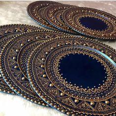 Mehndi by Tasha by Mehandibytasha Indian Wedding Gifts, Moroccan Wedding, Moroccan Style, Indian Wedding Centerpieces, Desi Wedding Decor, Mehndi Party, Wedding Mehndi, Thali Decoration Ideas, Teacup Crafts