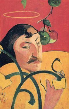 Paul Gauguin - Self Portrait - art prints and posters