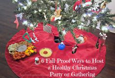 Are you looking for some ways to make your Christmas party healthier? I love going to Christmas parties but most of the time the food that is served isn't always the healthy. It is so much easier to serve healthy foods when you are the host and can plan out what you want to serve your holiday guests. However, when you aren't the hostess then you don't always know what...