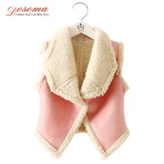 Cheap vests waistcoats, Buy Quality clothing kid directly from China clothing Suppliers:  2015 autumn winter fur girl vest fashion Korean children's clothing for girls