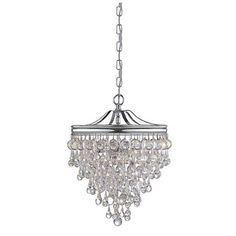 Decor Look Alikes: Save 80.00 @ Pottery Barn vs Ballard Designs Bellamy 3 Light Glass Pendant