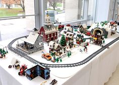 LEGO winter village | Just starting to upload some photos fr… | Flickr