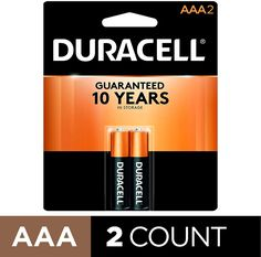 Duracell - CopperTop AAA Alkaline Batteries - long lasting all-purpose Triple. Triple Aaa, Metal Watch Bands, Tool Band, Cleaning Items, Caller Id, Alkaline Battery, Battery Sizes, Led Technology, Counting